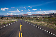 US Route 89 in the Sevier River Valley of sountern Utah