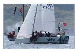 Bell Lawrie Series Tarbert Loch Fyne - Yachting.The third day's inshore races, which transpired to be the last...Sportsboat overall winner GBR2503T, Warthog, a Beneteau 25 owned by Andy & Stephanie Lightbown..