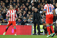 01.12.2012 SPAIN -  La Liga 12/13 Matchday 14th  match played between Real Madrid CF vs  Atletico de Madrid (2-0) at Santiago Bernabeu stadium. The picture show Diego Pablo Simeone coach of Atletico de Madrid