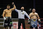 Boxen: Giants Professional Boxing Serie, Hamburg, 07.11.2020<br /> Schwergewicht: Albon Pervizaj (GER) - Hasan Kurnaz (GER)<br /> © Torsten Helmke
