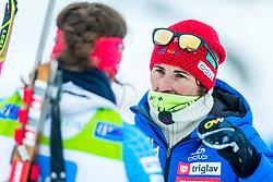 Andreja Mali during Slovenian National Cup in Biathlon, on December 30, 2017 in Rudno polje, Pokljuka, Slovenia. Photo by Ziga Zupan / Sportida