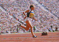 Athletics : Munich Olympic games 1972 Womens 200m..Renata Stecher - East Germany DDR.Winner of the Gold medal in the 100m , 200m in World record time and silver in the 4 x 100m relay final.
