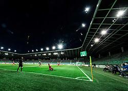 Stadium during football match between NK Olimpija Ljubljana and NK Aluminij in 33rd Round of Prva liga Telekom Slovenije 2019/20, on July 12, 2020 in SRC Stozice, Ljubljana, Slovenia. Photo by Vid Ponikvar / Sportida