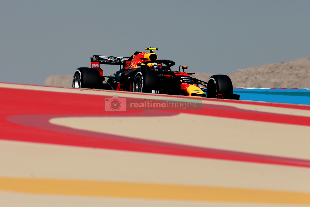 April 7, 2018 - Sakhir, Bahrain - Motorsports: FIA Formula One World Championship 2018, Grand Prix of Bahrain,#33 Max Verstappen (NDL, Red Bull Racing) (Credit Image: © Hoch Zwei via ZUMA Wire)