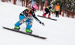 Iva Polanec of Slovenia during FIS Snowboard World Cup Rogla 2013 in Parallel Giant slalom, on February 8, 2013 in Rogla, Slovenia. (Photo By Vid Ponikvar / Sportida.com)