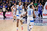 DESCRIZIONE : Campionato 2014/15 Serie A Beko Dinamo Banco di Sardegna Sassari - Acqua Vitasnella Cantu'<br /> GIOCATORE : Kenneth Kadji Jerome Dyson<br /> CATEGORIA : Ritratto Esultanza<br /> SQUADRA : Dinamo Banco di Sardegna Sassari<br /> EVENTO : LegaBasket Serie A Beko 2014/2015<br /> GARA : Dinamo Banco di Sardegna Sassari - Acqua Vitasnella Cantu'<br /> DATA : 28/02/2015<br /> SPORT : Pallacanestro <br /> AUTORE : Agenzia Ciamillo-Castoria/L.Canu<br /> Galleria : LegaBasket Serie A Beko 2014/2015