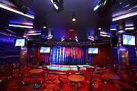 Royal Caribbean International's  Independence of the Seas, the world's largest cruise ship...Onboard feature pictures...Karaoke club