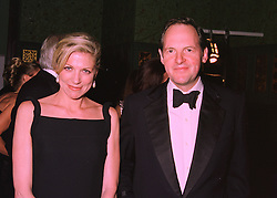 MISS LYNN FORESTER and the EARL OF DARTMOUTH,  at a ball in London on 14th February 1998.MFM 26