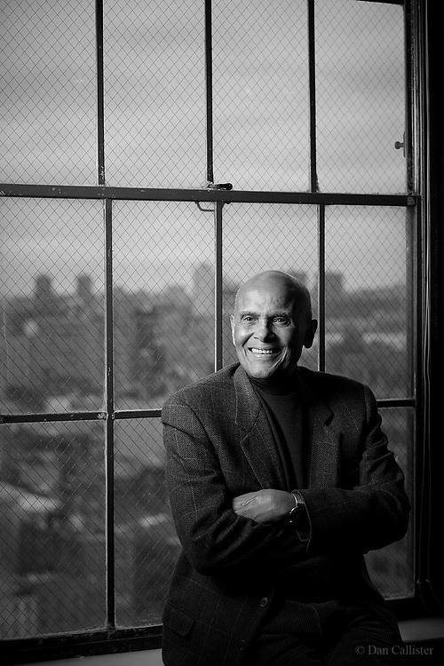 Civil rights activist Harry Belafonte by photographer Dan Callister