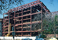 The Motion Picture Association Building under construction in December 1973,<br />Photo by Dennis Brack