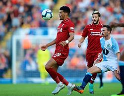 BLACKBURN, ENGLAND - Thursday, July 19, 2018: Liverpool's Dominic Solanke during a preseason friendly match between Blackburn Rovers FC and Liverpool FC at Ewood Park. (Pic by David Rawcliffe/Propaganda)