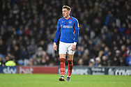 Ronan Curtis (11) of Portsmouth during the EFL Sky Bet League 1 match between Portsmouth and Ipswich Town at Fratton Park, Portsmouth, England on 21 December 2019.