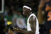 WACO, TX - JANUARY 5: Johnathan Motley #5 of the Baylor Bears looks on against the Oklahoma State Cowboys on January 5, 2016 at the Ferrell Center in Waco, Texas.  (Photo by Cooper Neill/Getty Images) *** Local Caption *** Johnathan Motley