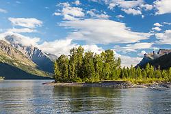Waterton Lake, Waterton Lakes National Park, Alberta, Canada