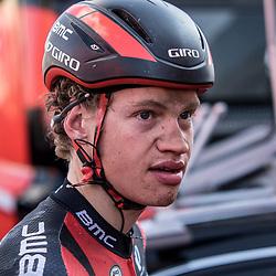 10-04-2016: Wielrennen: Parijs Roubaix: Roubaix<br /> Floris Gerts (BMC - Nederland) debuteerde in Parijs-Roubaix