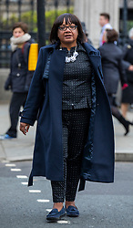 © Licensed to London News Pictures. 30/04/2018. London, UK. Shadow Home Secretary DIANE ABBOTT is seen on Parliament Square. Photo credit: Rob Pinney/LNP