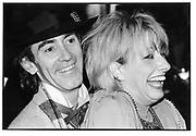 Ossie Clark and Zandra Rhodes. London Designer Collections party. 15 March 1983. © Copyright Photograph by Dafydd Jones 66 Stockwell Park Rd. London SW9 0DA Tel 020 7733 0108 www.dafjones.com