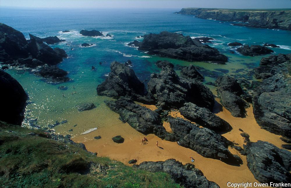 A beach at Belle-Ile-en-Mer, an Island off of Brittany, France - © Owen Franken