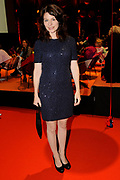 Premiere Patatje Oorlog tijdens de Opening van het Cinekid Festival in de Gashouder op het Westergasterrein in Amsterdam.<br /> <br /> Op de foto:  Rifka Lodeizen