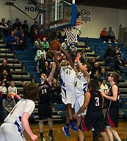 Gilford varsity basketball versus Stevens first round NHIAA Division III tournament.  Karen Bobotas for the Laconia Daily Sun