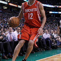 06 March 2012: Houston Rockets shooting guard Kevin Martin (12) is seen during the Boston Celtics 97-92 (OT) victory over the Houston Rockets at the TD Garden, Boston, Massachusetts, USA.