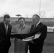 17/3/1966<br /> 3/17/1966<br /> 17 March 1966<br /> <br /> Mr. Con. Smith viewing the new advertising campaign