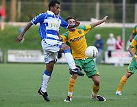 Photo: Maarten Straetemans.<br /> FC Zwolle v Norwich City. Pre Season Friendly. 25/07/2007.<br /> Jimmy Smith (reght) of Norwich City