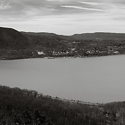 Hudson River with Stormking Mountain and Bannerman's Island