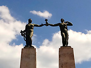 Monumento a Belisario Porras / Plaza Porras, Ciudad de Panamá.
