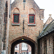 Old St. John's Hospital is one of Europe's oldest surviving hospital buildings that dates to the 11th century. It originally treated sick pilgrims and travelers. A monastery and convent was later added. It is now a museum.