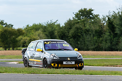 Neil Heath pictured competing in the 750 Motor Club's Clio 182 Championship. Image captured at Snetterton on July 18, 2020 by 750 Motor Club's photographer Jonathan Elsey