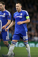 John Terry, the Chelsea captain looks on. UEFA Champions league group G match, Chelsea v Porto at Stamford Bridge in London on Wednesday 9th December 2015.<br /> pic by John Patrick Fletcher, Andrew Orchard sports photography.