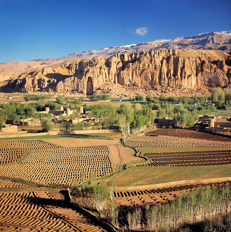 Ancient irrigation methods are still used in the Bamian Valley of Afghanistan.