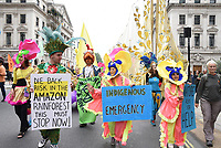Extinction Rebellion end their 14 day Campaign in London with a March for Nature from Trafalgar Square to Hyde Park,photo by Krisztian Elek