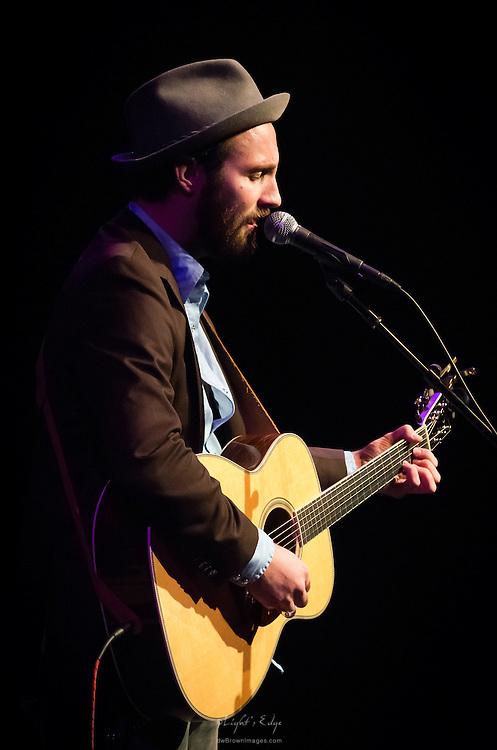 Nashville based Ruston Kelly, opening for John Hiatt at SOPAC in South Orange, NJ.