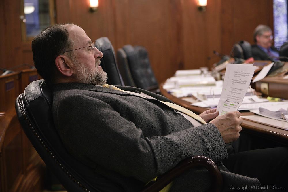 Rep. Wes Keller in the Alaska State House of Representatives.