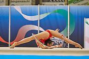 Carla Stucchi from Moderna Legnano team during the Italian Rhythmic Gymnastics Championship in Padova, 25 November 2017.