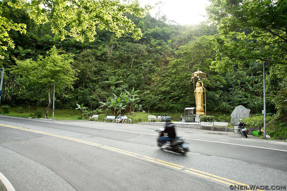 Route 9 Buddhist shrine and rest area.