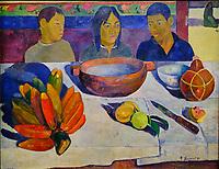 France, Paris (75), zone classée Patrimoine Mondial de l'UNESCO, Musée d'Orsay, Le Repas, Paul Gauguin // France, Paris, Orsay museum, Le Repas, Paul Gauguin