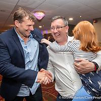 Cillian Murphy congratulates Ian Lynch