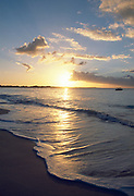 Grace Bay Beach at sunset, Providenciales, Turks & Caicos