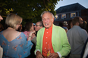 LORD RICHARD ROGERS, 2016 SERPENTINE SUMMER FUNDRAISER PARTY CO-HOSTED BY TOMMY HILFIGER. Serpentine Pavilion, Designed by Bjarke Ingels (BIG), Kensington Gardens. London. 6 July 2016