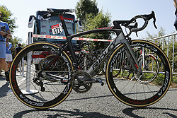 July 8, 2018 - La Roche-Sur-Yon, France - new Ridley bike of Lotto Soudal during stage 2 of the 105th edition of the 2018 Tour de France cycling race, a stage of 182.5 kms between Mouilleron - Saint-Germain and La Roche-Sur-Yon on July 08, 2018 in La Roche-Sur-Yon, France, 8/07/18 (Credit Image: © Panoramic via ZUMA Press)
