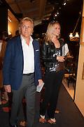 Richard Berglas and Lana Berglas at the Opening of The LAPADA  Art and Antiques Fair. Berkeley Sq. London. 24 September 2013.