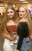 11-3-2018: Ella Corcoran, Valentia ISland and Olivia O'Shea, Portmagee pictured at the Niall Horan Flicker World Tour opening performance at the INEC, Killarney at the weekend.  The tour started in Killarney and will finish in September in Florida.<br /> Photo: Don MacMonagle