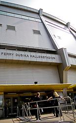 24.04.2010, Ferry Dusika Stadion, Wien, AUT, Judo European Championships, Stadionansicht vorne Ferry Dusika Stadion, during Judo European Championships 2010, EXPA Pictures 2010, Photographer EXPA/S. Trimmel / SPORTIDA PHOTO AGENCY