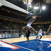 Fenerbahce Ulker's Bojan Bogdanovic (C) during their Turkish Airlines Euroleague Basketball Top 16 Group G Game 2 match Fenerbahce Ulker between EA7 Emporio Armani at Fenerbahce Ulker Sports Arena in Istanbul, Turkey, Wednesday, January 25, 2012. Photo by TURKPIX