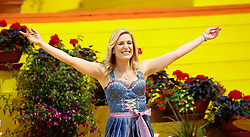 """31.05.2015, Europapark, Rust, GER, TV Show, Immer wieder Sonntags, im Bild Stefanie Hertel // during the German Music TV Show """"Immer wieder Sonntags"""" at the Europapark in Rust, Germany on 2015/05/31. EXPA Pictures © 2015, PhotoCredit: EXPA/ Eibner-Pressefoto/ Goermer<br /> <br /> *****ATTENTION - OUT of GER*****"""