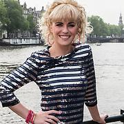 NLD/Amsterdam/20140430 - Clipopname K3 'Drums gaan boem', Josje Huisman, Karin Damen en Kristel Verbeke