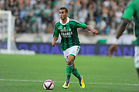 FOOTBALL - FRENCH CHAMPIONSHIP 2011/2012 - L1 - AS SAINT ETIENNE v AS NANCY LORRAINE - 13/08/2011 - PHOTO JEAN MARIE HERVIO / DPPI - FAOUZI GHOULAM (ASSE)